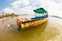 Goa boat Royalty Free Stock Images