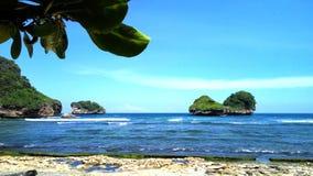 Goa Chiny plaża zdjęcia royalty free