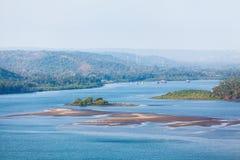 Goa coastline royalty free stock images