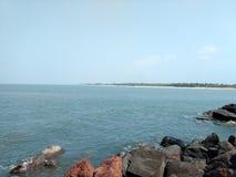 Goa de la playa Foto de archivo libre de regalías