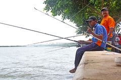 Goa Fishing Competition 2 Royalty Free Stock Image