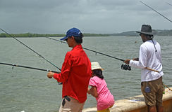 Goa Fishing Competition 3 Royalty Free Stock Photos
