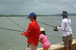Goa fiskekonkurrens 3 Royaltyfria Foton