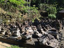 Goa Gajah Royaltyfri Fotografi