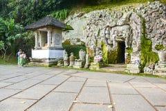 Goa Gajah cave (Elephant cave), Bali Stock Image