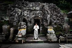 Goa Gajah cave Stock Photography