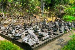 Goa Gajah (caverna dell'elefante) in Bali, Indonesia Fotografia Stock Libera da Diritti