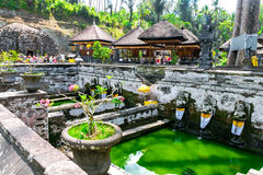 Goa Gajah (caverna dell'elefante) in Bali, Indonesia fotografie stock