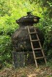 Goa Gajah 02. Goa Gajah Elephant Cave Hindu religious site in Bali Indonesia stock images