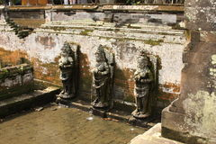 Goa Gajah 03. Goa Gajah Elephant Cave Hindu religious site in Bali Indonesia royalty free stock photography