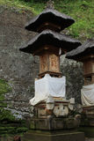 Goa Gajah 07. Goa Gajah Elephant Cave Hindu religious site in Bali Indonesia royalty free stock photo