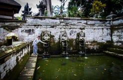 Goa Gajah pool Royalty Free Stock Images