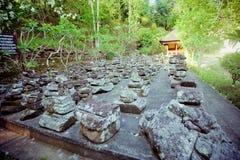 Goa Gajah tempel, Bali Arkivbild