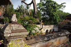 Goa Gajah tempel i Ubud, Bali, Indonesien. Royaltyfria Foton