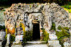 Goa gajah temple Royalty Free Stock Photos