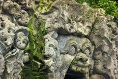 Goa Gajah Temple Stock Image