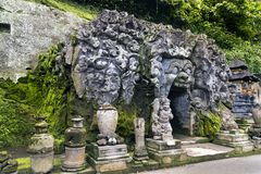 Goa Gajah Temple Stock Photos