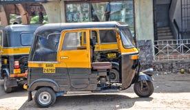 Goa-Indien buss Arkivfoton