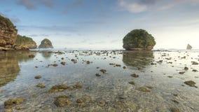 Goa Kina strand Royaltyfria Bilder