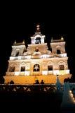 goa kościelna noc obraz stock
