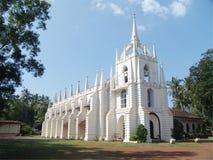 Goa kyrka royaltyfri bild
