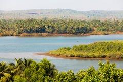 Goa landscape Stock Image