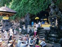 Goa lawah tempel stock foto