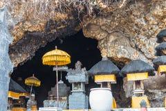 Goa lawah temple. Bat cave Stock Images