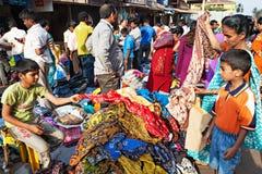 Goa-Markt Lizenzfreies Stockbild