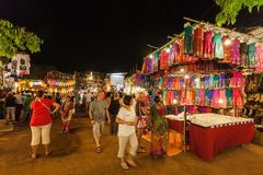 Goa Night Market Stock Images
