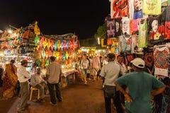 Goa Night Market Royalty Free Stock Photo