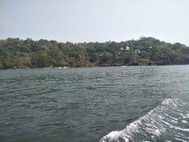 Goa plaża zdjęcie stock