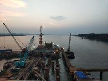 Goa port zdjęcia stock