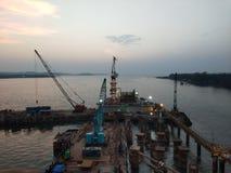 Goa port obraz royalty free