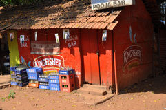 Goa store Royalty Free Stock Image