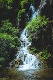 Goa Tetes vattenfall royaltyfri fotografi