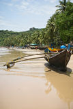 Goa tropical beach Stock Images