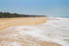GOA wybrzeża krajobraz zdjęcia stock