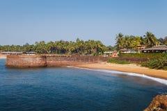 Goa wybrzeże Candolim Obrazy Stock
