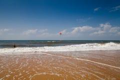 Goa wybrzeże Candolim Obraz Royalty Free