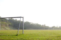 The goal Royalty Free Stock Photos