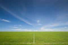 Goal. The soccer or football stadium Stock Photos