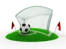 Goal Royalty Free Stock Photos