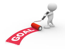 Goal stock illustration