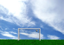 The goal Stock Images