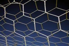 Goal !!!. Goalpost net stock photography
