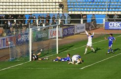 Goal!!! Stock Photo
