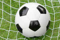 Goal!. Soccer ball Royalty Free Stock Photography