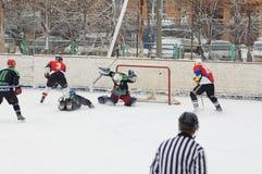 Goal in Avangard gate Royalty Free Stock Image