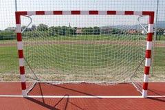 Goal for ball games. Royalty Free Stock Photos